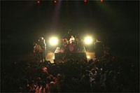 '03.8.21 Komatsushima MYRIKA HALL<br /> Tour'03-Hands and Feet-<br /> Photo by Tsukasa Miyoshi
